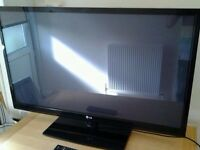 "42"" LG LCD 1080 HD TV BUILT IN FREE VIEW USB MULTIMEDIA PLAYER"