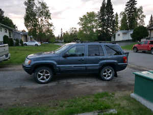 2002 JEEP GRAND CHEROKEE LIMITED V8 ALL TIME 4X4