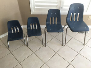 Classroom Chairs-NEW-assortment of sizes!