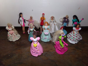 Barbie Minatures from McDonalds Belleville Belleville Area image 2