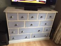 Shabby Chic Side board multi drawer