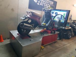 Dynamometre Dynojet 250x pour moto-scooter