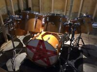 Drum Pearl Maple Shell Vintage 7 tambours