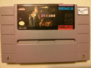 Super Nintendo (SNES) Phalanx video game$40