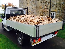 Seasoned hardwood firewood logs, Newcastle/Northumberland