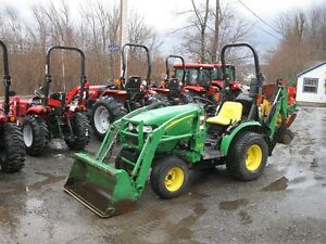 John Deere 2320 Tractor with Loader and Backhoe