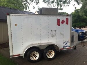 5x10 Enclosed Refrigerated Trailer