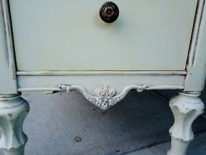 ANTIQUE CABINET SHABBY CHIC, SMALL CHEST, West Island Greater Montréal image 4