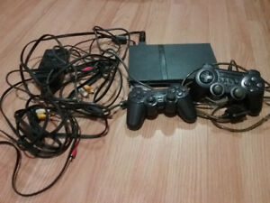 Playstation 2 with 7 games