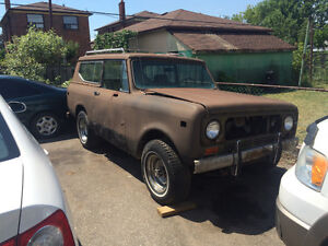 1978 International Harvester Scout II Traveltop SUV, Crossover