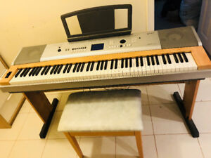 Yamaha DGX-630B 88-Key Digital Piano with Stand + Bench