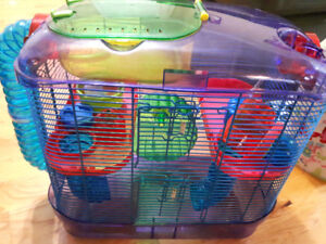 SOLD PPUCritter Trail Hamster Cage