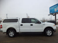 2008 Ford F-150 SuperCrew XLT 4X4--ONE OWNER TRUCK-AMAZING SHAPE