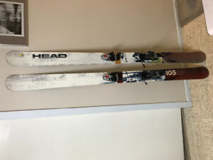 Twin Tip Head Mojo 105 Skis