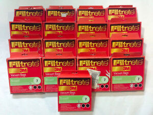 51 NEW 3M BISSELL 7 Vacuum Bags for 3522 3545 3350 3554 Vacuums