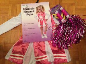 Costume de cheerleader NEUF 2-4T