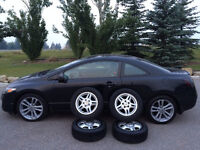 2009 Honda Civic Coupe ACTIVE STATUS, ONE OWNER