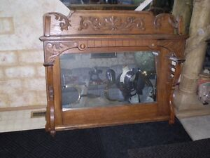 Ornate Mirror Top for Sideboard Strathcona County Edmonton Area image 2