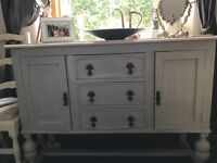 1930's upcycled sideboard