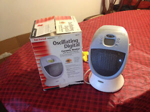 Ceramic Heater - Honeywell - Oscillating-Digital-Remote Control