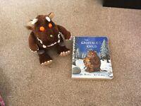 Gruffalo teddy and book