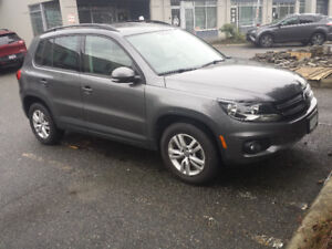2014 VW Tiguan Trendline 4Motion with Convenience Package