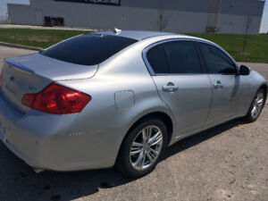 2010 INFINITI G37X AWD FULLY LOADED