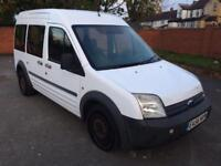 Ford Tourneo Connect Crew Cab T230 90. FULL SERVICE HISTORY PRINT OUT. 6 SEATS.