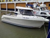 Quicksilver Pilothouse 640 fishing boat