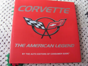 VINTAGE CORVETTE BOOK BY CONSUMERS GUIDE