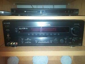 Amplificateur  SONY audio,cinéma maison, lecteur 5 CD