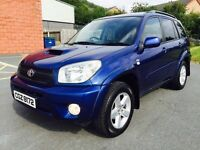 2005 TOYOTA RAV4 TX3 DIESEL 4X4 FULL SERVICE HISTORY TWO OWNERS