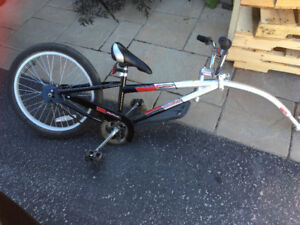 Tandem bike attachment
