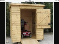Wooden/timber sheds for sale