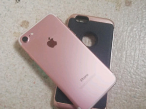Apple iPhone 7 32gb Rose Gold New Condition
