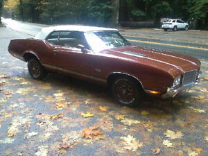 1971 Olds Cutlass convertible restored