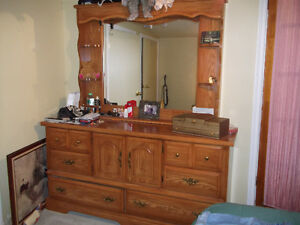 Solid wood bedroom dresser & more. Moving Must Sell Peterborough Peterborough Area image 2