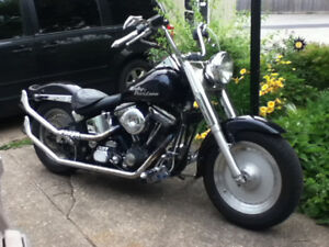 HARLEY DAVIDSON SOLID WHEELS AND NEW TIRES / CENTER LINES RIMS