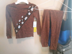 Star wars Chewbacca pyjamas size 5