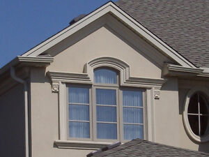 Exterior Stucco Trim & Interior Plaster Crown Moldings & Columns Stratford Kitchener Area image 9