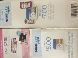 Coupons and sample packs