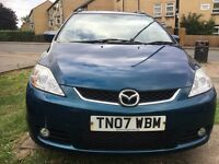 Mazda 5 Sport Petrol Manual, 11 Months MOT, 7 Seater, Service History. HPI Clear