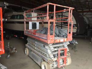 2002 Skyjack 4626/3219 Annual and 5 yr structural safetied