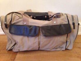 Calvin Klein weekend bag
