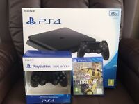 *** PS4 Slim (Bundle) *** What You See is What You Get *** ALL BRAND NEW & SEALED ***