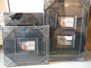 3 - BLACK PHOTO FRAMES - 2