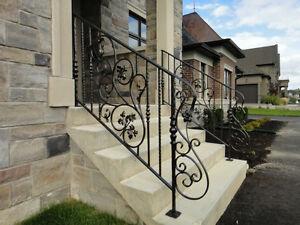 Elegant Railings, Handrails, Gates,Stairs, Wrought Iron-Aluminum