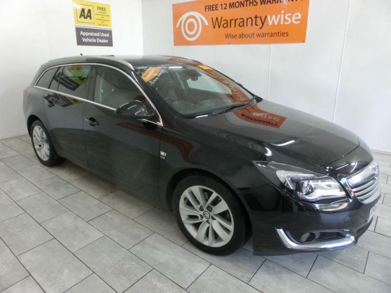 2014 Vauxhall Insignia 2.0CDTi 140 Nav ecoFLEX Elite **BUY FOR ONLY £38 A WEEK**