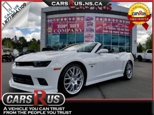 2014 Chevrolet Camaro SS Convertible Only 13,000 Km