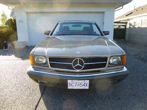 1983 Mercedes Benz 380SEC